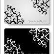Floral cards templates — Stock Vector