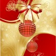 Royalty-Free Stock Imagem Vetorial: Abstract xmas card