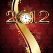 Royalty-Free Stock Vectorielle: Background for new year and for Christmas