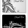 Business card templates — Imagen vectorial