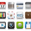 Vector App Icon Set - Stockvectorbeeld