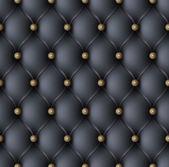 Black upholstery seamless pattern — Stock Vector
