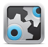 Vector Settings icon — Stock Vector
