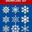 Snowflake Vector Set — Stock Vector #36275013