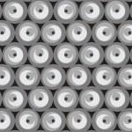 textura vector inconsútil con círculos — Vector de stock