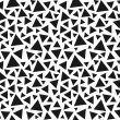 Seamless triangle pattern. Vector background. — Stock Vector