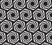 Trama di esagoni. seamless pattern geometrici. arte vettoriale. — Vettoriale Stock