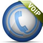 Telephone icon. Vector illustration — Stock Vector #17208425