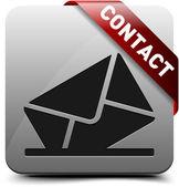 E-mail vector button — Stock Vector