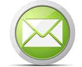 Email icon. Vector illustration. — Stock Vector