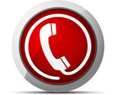 Telephone icon. Vector illustration — Stock Vector