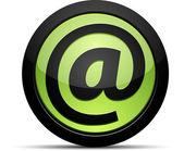 E mail icon. Vector illustration — Stock Vector