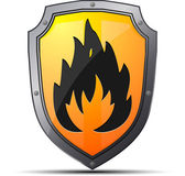 Fire sign — Stock Vector