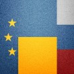 EU Ukraine Russia — Stock Photo #36124813