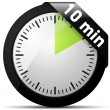 10 Minutes timer — Stock Vector #47722635