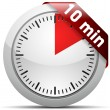 10 Minutes timer — Stock Vector #47722705