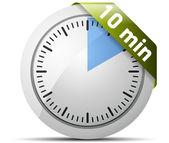 10 Minutes timer — 图库矢量图片