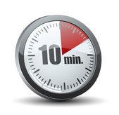 10 dakika zamanlayıcı — Stok Vektör