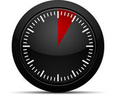 5 dakika zamanlayıcı — Stok Vektör
