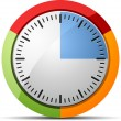 15 Minutes timer — Stock Vector #47730773