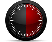 30 Minutes Timer — Stock Vector