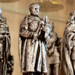 Statues of the Polish kings — Stock Photo #12033629
