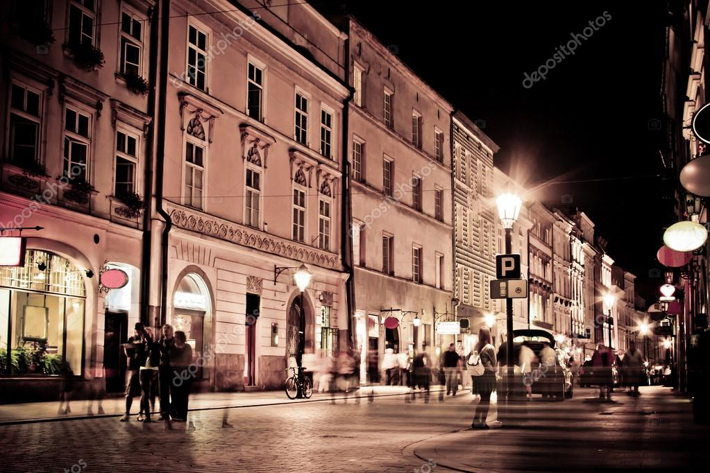 Stylized photo of the city's old street — Stock Photo #12033594