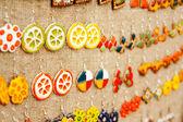 The handmade rings — Stock Photo