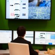 VIENNA - OCTOBER 26: System of control traffic flow at the 19th - Stock Photo