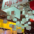 VIENNA - OCTOBER 26: Fujitsu stand at the 19th Intelligent Trans — Stock Photo