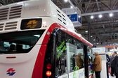 VIENNA - OCTOBER 26: First Electric Bus (Е-BUS) on the 19th In — Stock Photo