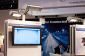 VIENNA - OCTOBER 26: Bosch stand at the 19th Intelligent Transpo — Stock Photo