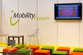 VIENNA - OCTOBER 26: Mobility forum at the 19th Intelligent Tra — Stock Photo