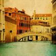 Stock Photo: Stylized photo of Grand Canal in Venice