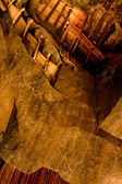 WIELICZKA, POLAND - OCTOBER 21, 2013: The salty mine in Wieliczk — Stock Photo