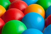 Toy balls isolated on white background — Stock Photo