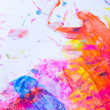 Abstract watercolor background — Stock Photo #7384535