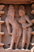 Khajuraho heritage temples — Stock Photo