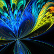 Abstract fractal background — Photo