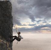 Affärsman och yrkesmässig framgång — Stockfoto