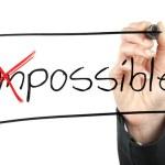 cambiare l'impossibile in possibile — Foto Stock