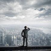 Mirar hacia el futuro — Foto de Stock