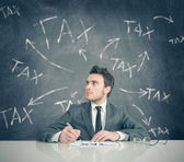 Tax problem — Stock Photo