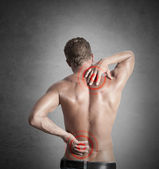 Backache — Stock Photo