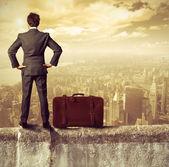 Empresario y el éxito — Foto de Stock