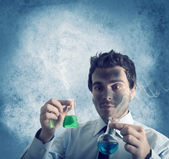 Dangerous chemical formula — Stock Photo