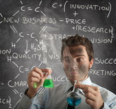 New business formula — Stock Photo