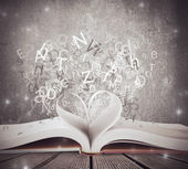 Amor por livro — Foto Stock
