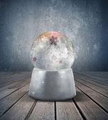 Snow sphere — Stock Photo