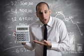 Tax and crisis — Stock Photo